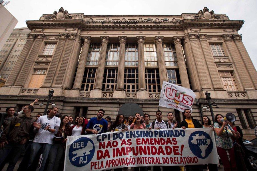 A CPI das Universidades Privadas da Alerj