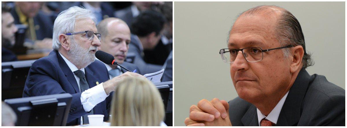 Valente: Alckmin falar de combate à corrupção é piada pronta