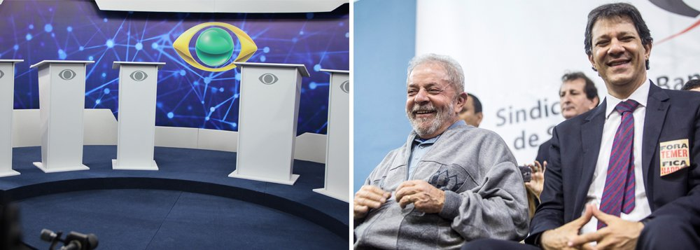Debate sem Lula apequena Band