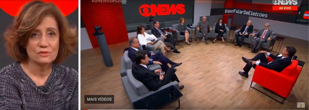 Mico histórico: Miriam Leitão diz que Globo apoiou o golpe de 1964