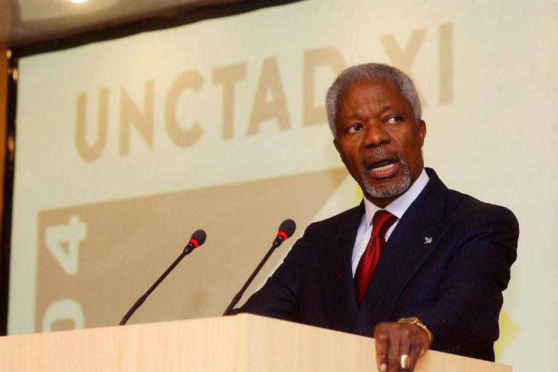 Dilma e Lula lamentam morte de Kofi Annan
