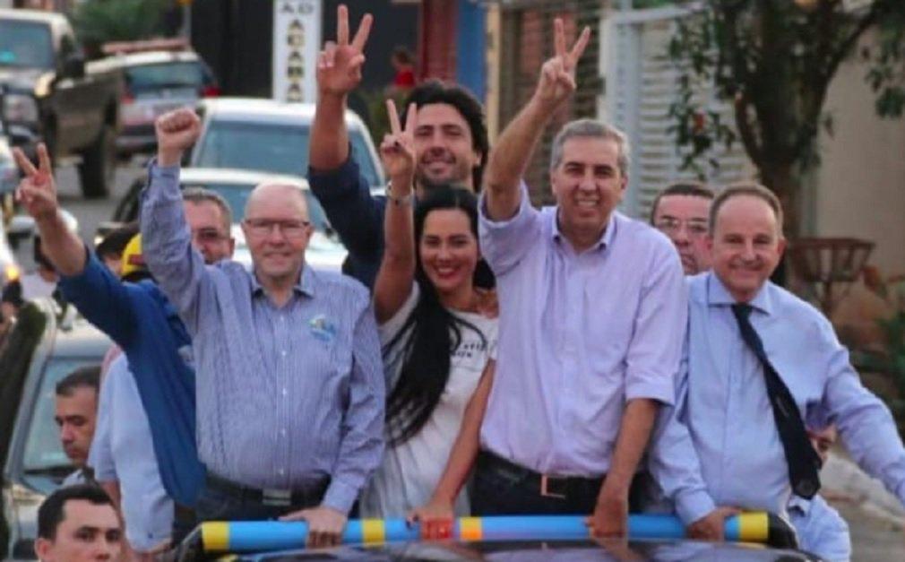 Demóstenes mobiliza carreatas em Hidrolândia e Senador Canedo