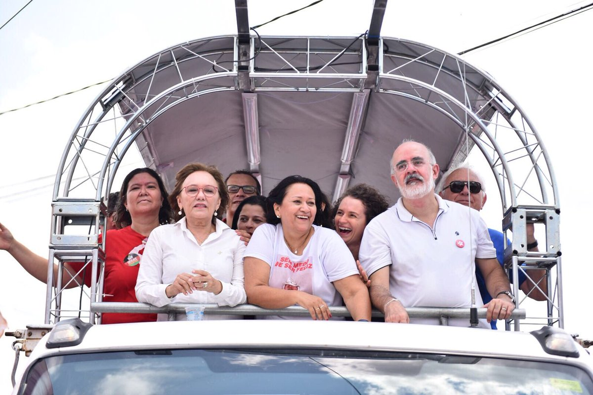 PT pode ampliar número de governos estaduais, diz Ibope