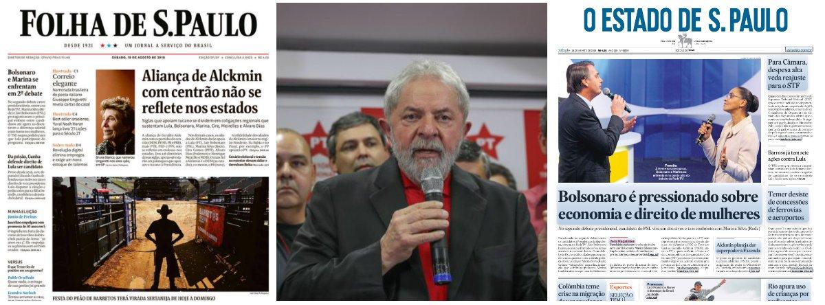 Mídia alinhada ao golpe dá mais um vexame ao esconder caso Lula-ONU