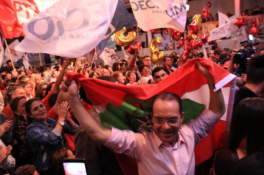 Décio Lima lidera em Santa Catarina, mostra Ibope