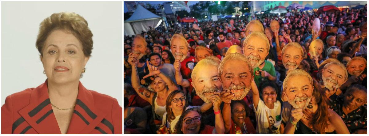 Dilma sobre ONU: mundo clama pelos direitos de Lula e do povo brasileiro