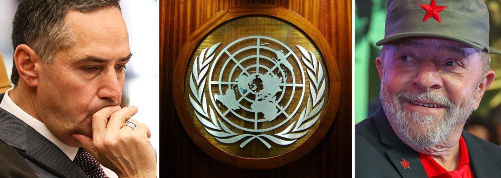 O dilema de Barroso: seguir a Globo ou o Comitê de Direitos Humanos?