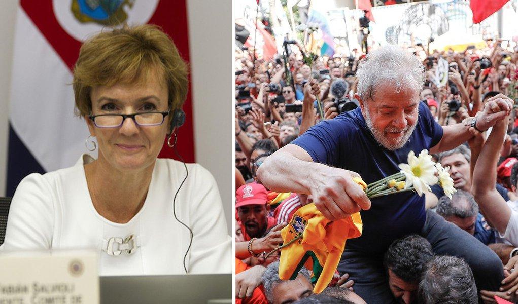 """Vice de comitê da ONU diz que Brasil é """"obrigado"""" a garantir Lula nas eleições"""