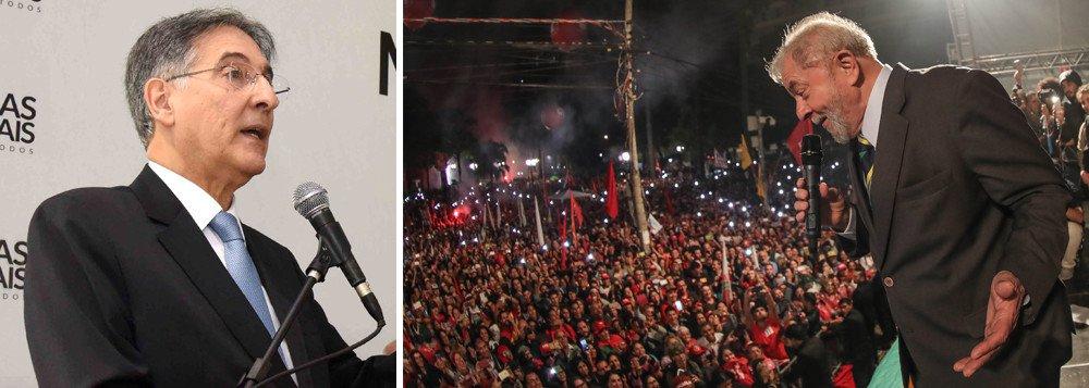 Pimentel: absurdo contra Lula fica a cada dia mais evidente