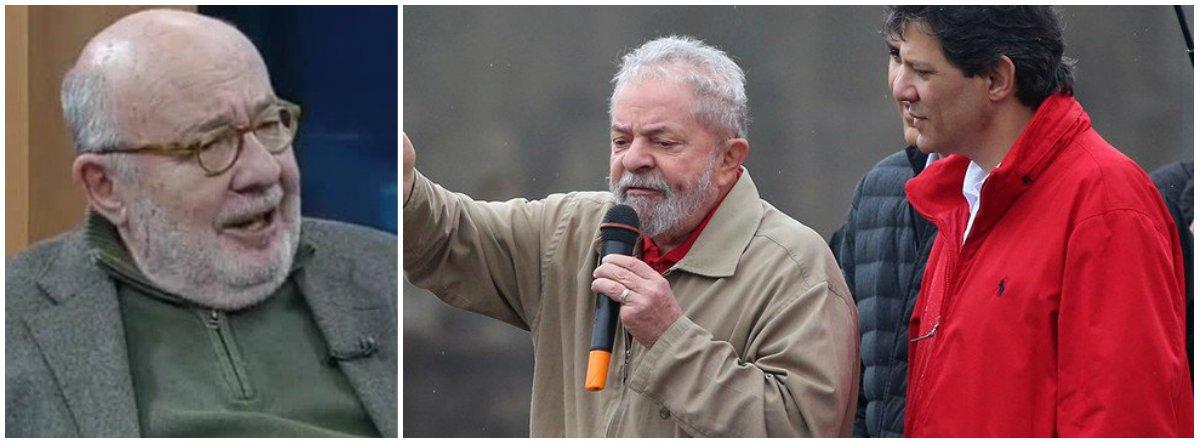 Kotscho: com apoio de Lula, Haddad já chega a 15% na pesquisa XP/Ipespe
