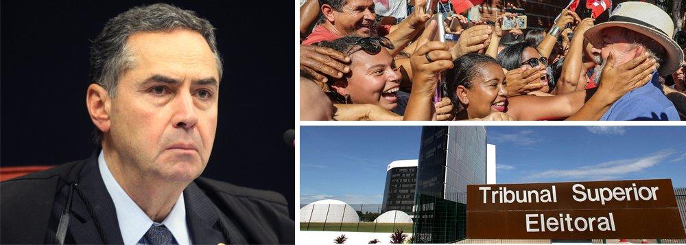 Barroso intima defesa sobre TSE mantê-lo na relatoria de candidatura de Lula