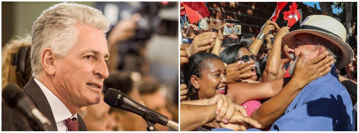 Correia: decisão da ONU deixa claro que Lula é preso político