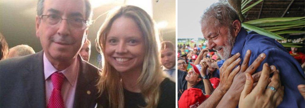 Para Cunha, filha dará mais trabalho que ele e Lula deve ser candidato