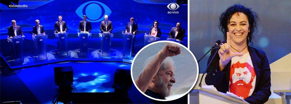 Censurado, Lula se destaca nos debates estaduais com defesa do PT