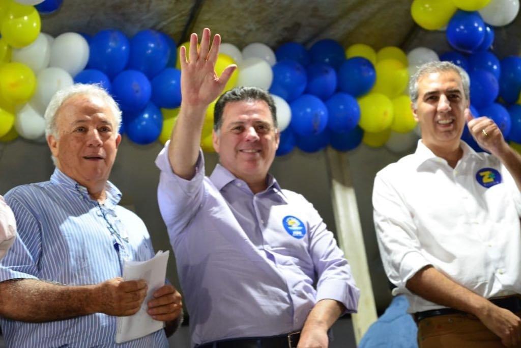Embalados, Eliton e Marconi iniciam campanha em Goianésia