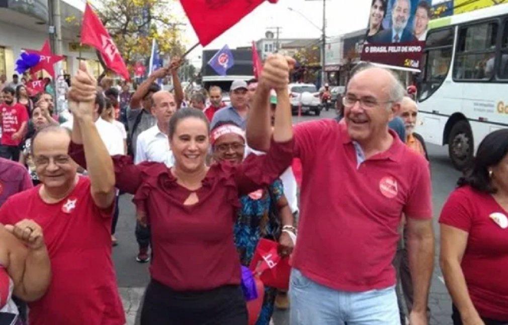 Kátia inicia campanha e abre palanque para Lula em Goiás