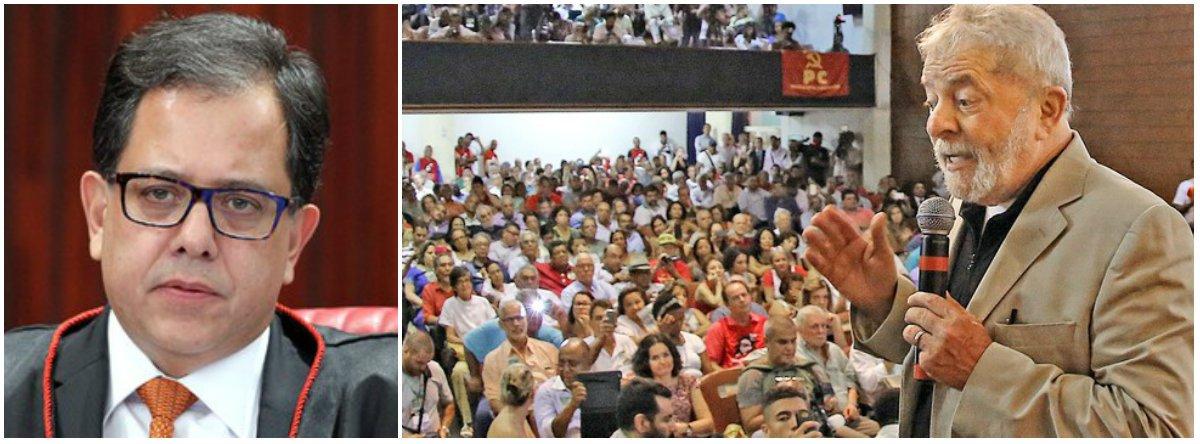 À margem da lei, TSE veta participação de Lula em debate na Rede TV