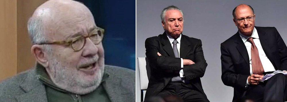 Kotscho: Alckmin empaca de vez com apoio de Temer
