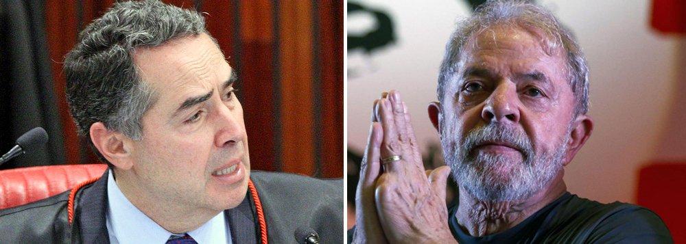 Barroso: TSE 'fará o que é certo' sobre pedido de registro da candidatura de Lula