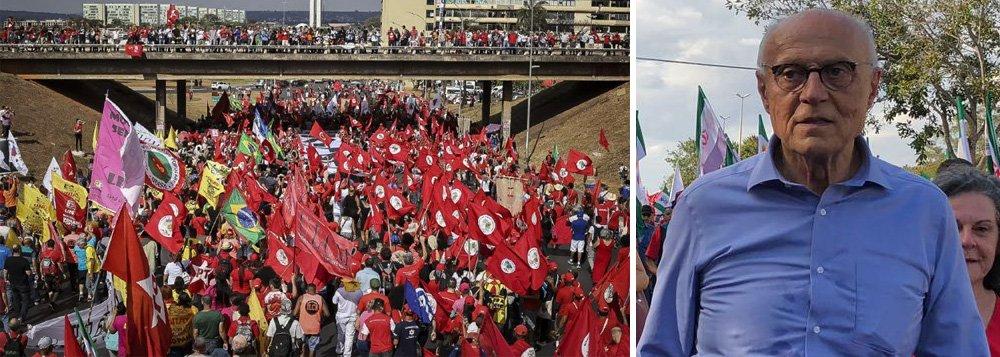 Judiciário deve ouvir o clamor das ruas por Lula, diz Suplicy