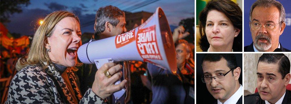 PT apresenta pedido para ouvir autoridades sobre manobra contra Lula
