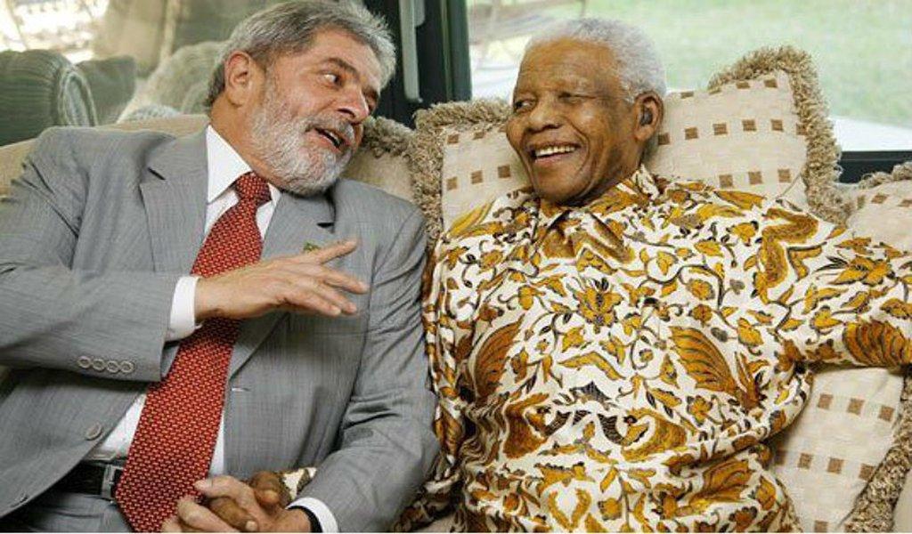 A campanha pela libertação do Lula está parecida com a de libertação do Mandela