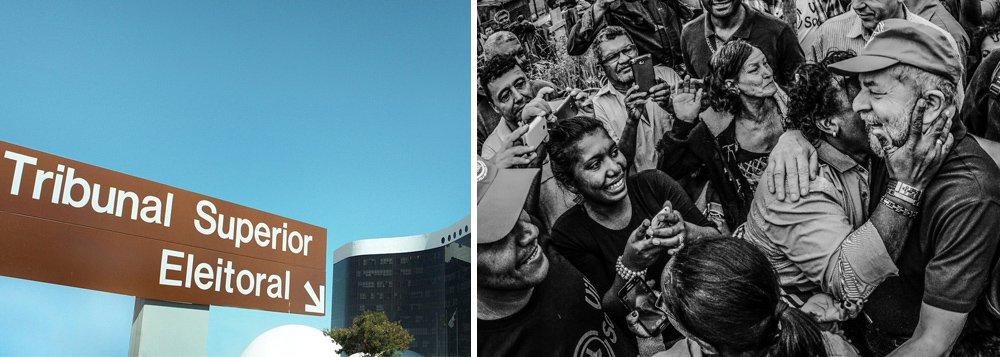 Lula não estará em Brasília, mas uma multidão o representará no TSE