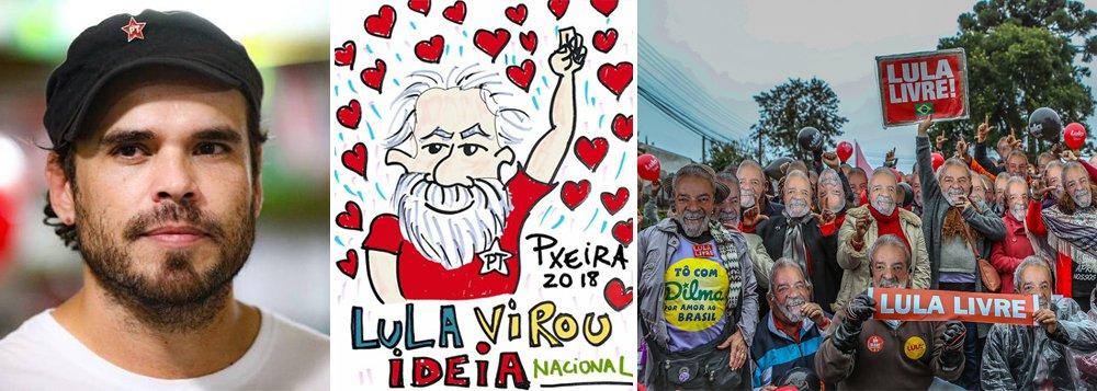 Pxeira: vamos registrar Lula e devolver o Brasil para seu povo