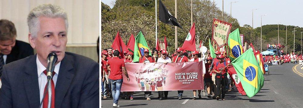 Rogério Correia: as pessoas marcham porque Lula é inocente