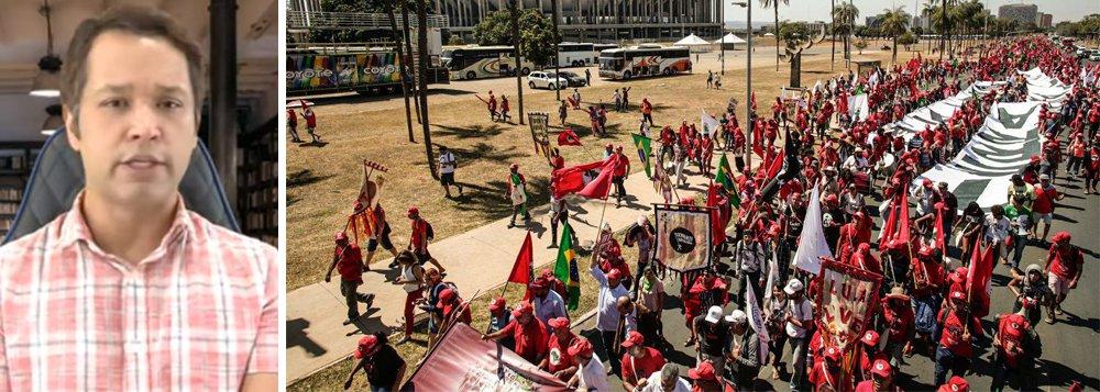 Stoppa: manifestação em Brasília é chamado para levante popular