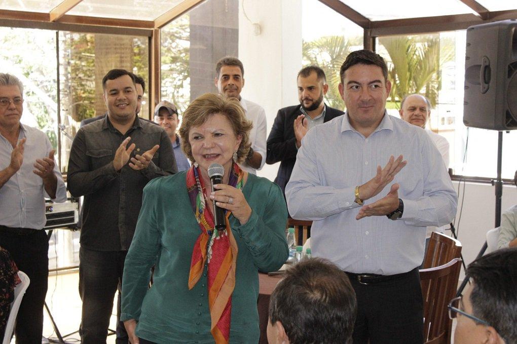 Em apoio a Lúcia, Vitti reúne lideranças de 50 municípios