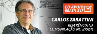Carlos Zarattini apoia o 247: referência na comunicação no Brasil