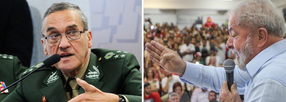 Veto militar a Lula é um risco para todo o país – inclusive para Exército