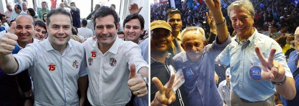 Ibrape: Renan Filho vence Collor por 44% a 21%