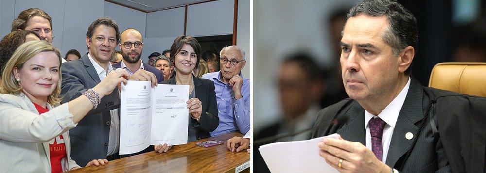 Barroso será o relator da candidatura de Lula