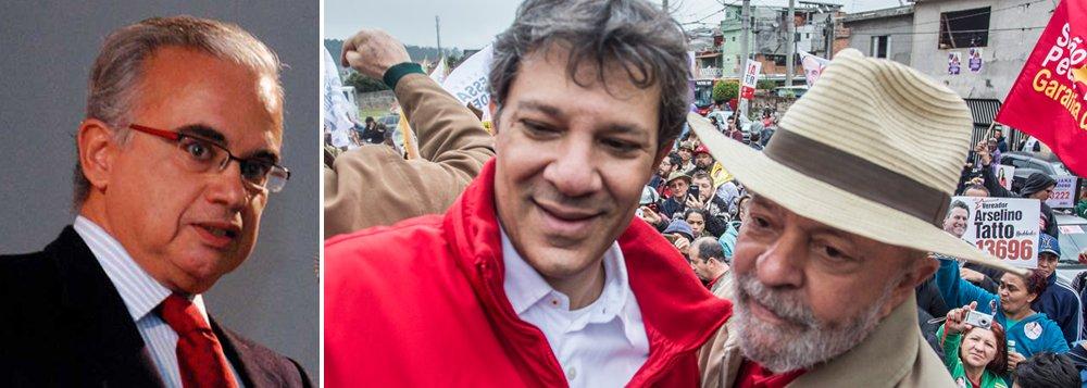 Marcos Coimbra:se Lula for cassado, votos serão transferidos para Haddad em horas