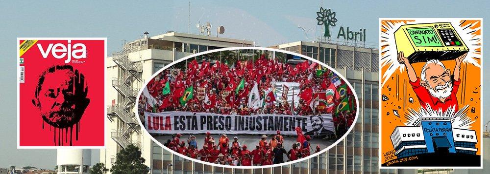 Grupo Abril pede recuperação judicial no dia da virada de Lula