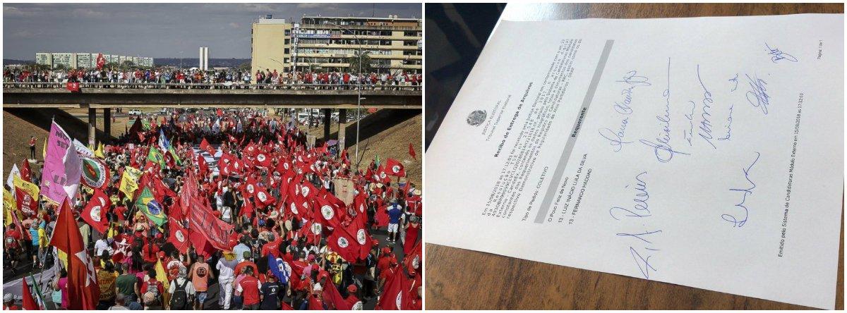 Agora é oficial: Lula é candidato