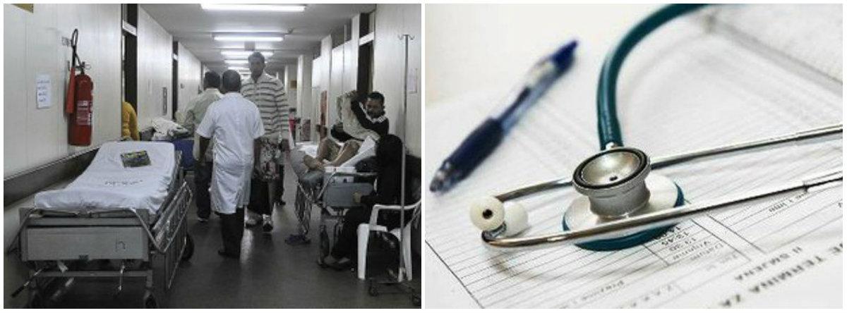 Moradores do ABC denunciam atendimento precário nos hospitais da região
