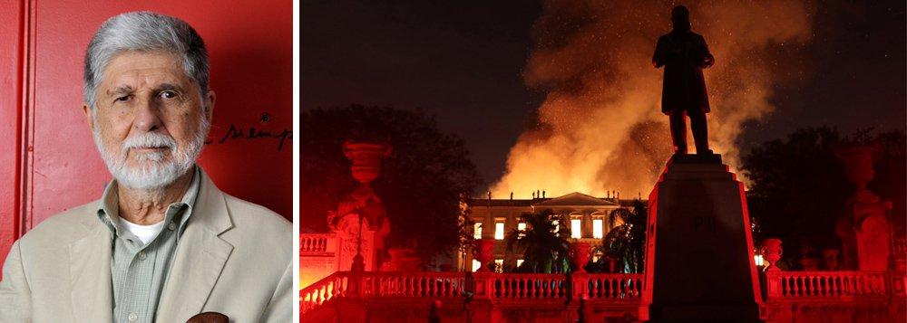 'O MP, tão ativo, vai fazer algo?', questiona Amorim sobre incêndio
