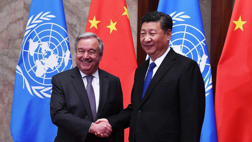 Xi Jinping diz que ONU é bandeira do multilateralismo