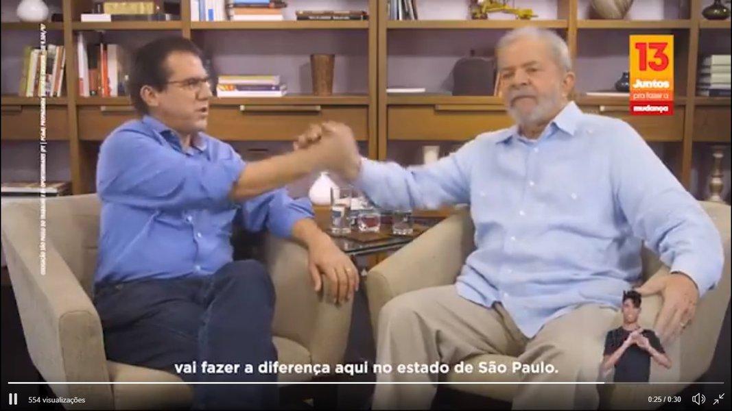 TRE-SP suspende propaganda eleitoral de Luiz Marinho com Lula
