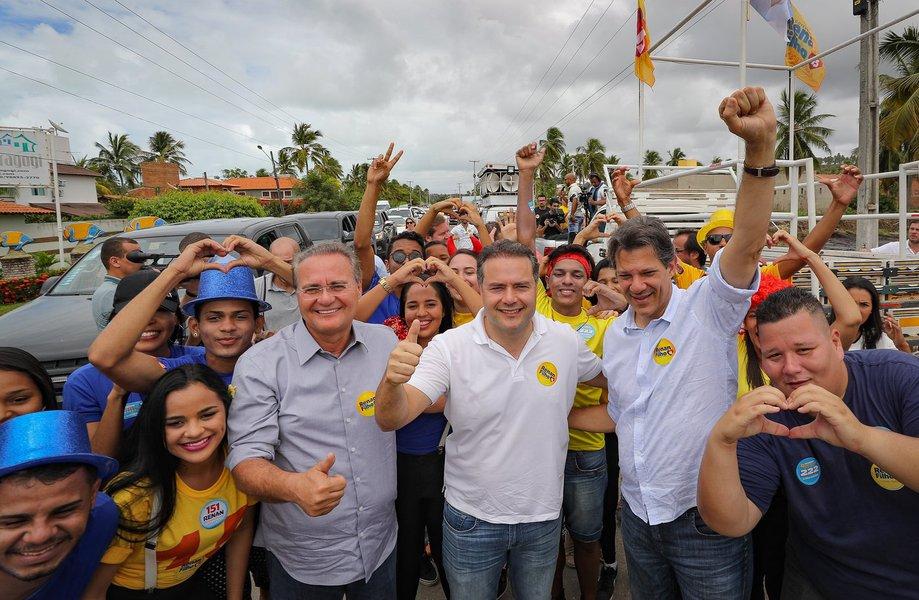 Haddad leva agradecimento de Lula a Renan