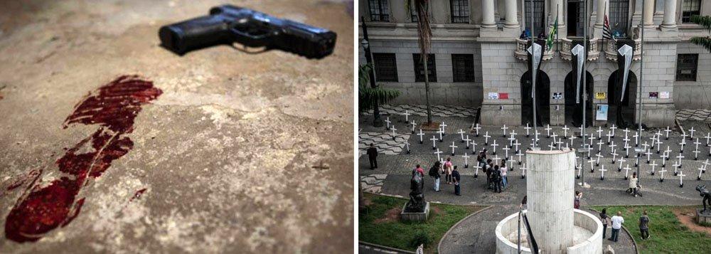 Violência no estado de São Paulo em 2017 se aproxima de um Carandiru
