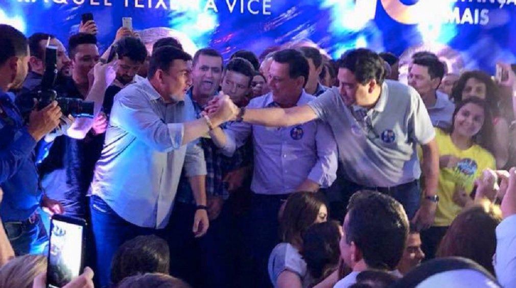 De olho na prefeitura de Goiânia, Vitti é protagonista na campanha da base