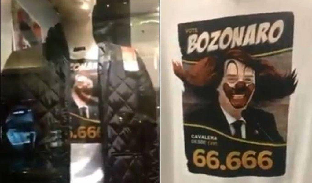 Sargento da FAB ameaça dono da Cavalera por camiseta com Bolsonaro