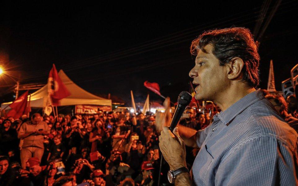 Em novo ataque contra Haddad, promotor pede R$ 381 mil em indenização por danos morais