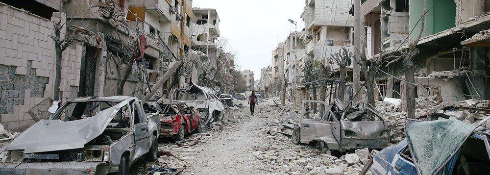 Rússia entrega à ONU provas de suposto plano para ataque químico na Síria
