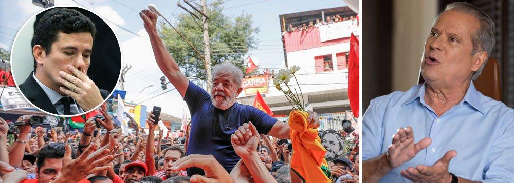 José Dirceu ao 247: objetivo da Lava Jato era eliminar Lula e o PT