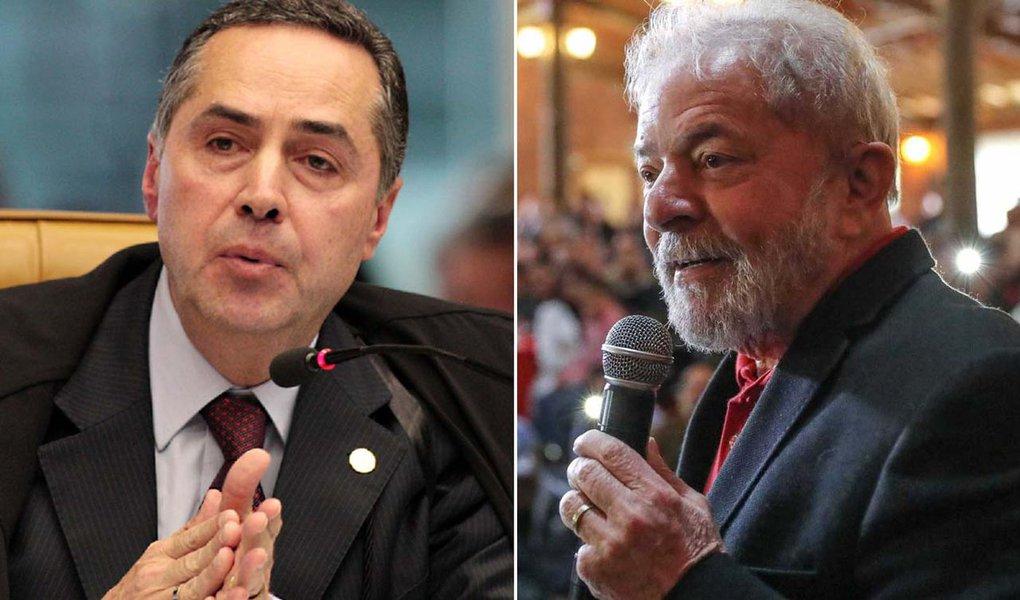 Barroso vai impugnar Lula ainda hoje